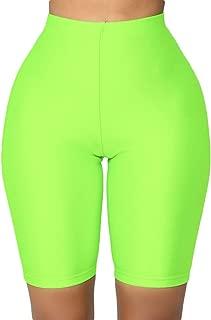 Women's Biker Shorts High Waist Active Gym Workout Yoga Shorts Leggings Sexy Stretch Bodycon Hot Short Leggings