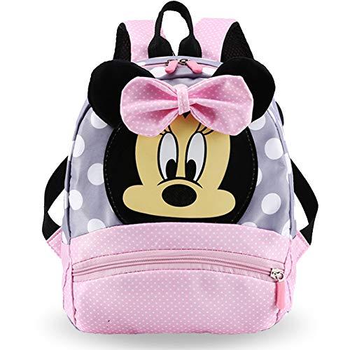 Mickey Rucksack - WENTS Kinderrucksack Lässig Disney Kinderrucksack für 2-7Jährige im Kindergarten Jungen Rucksack Mädchen Rucksack
