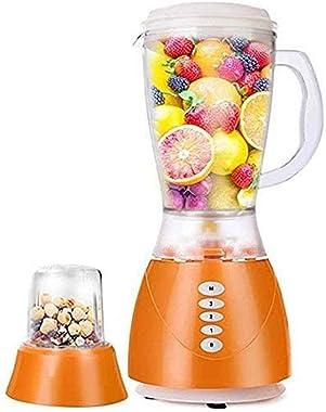 QIN Juicer Machines Fruit and Vegetable Juicer Compact Juicer Extractor, Easy Clean Juicer,BPA-Free,1500Ml High Capacity Blender