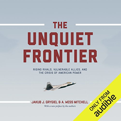 The Unquiet Frontier audiobook cover art