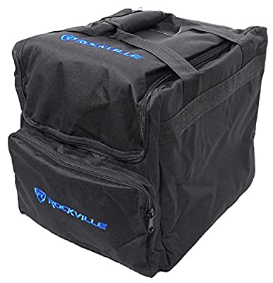 Rockville Padded Travel Bag for (2) Chauvet or American DJ Effect Lights (RLB40) by Audiosavings