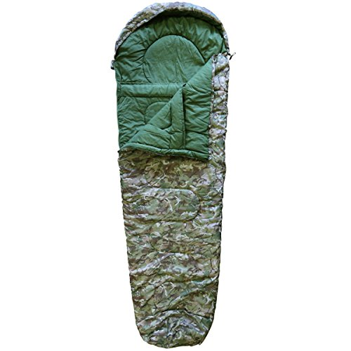 Kombat UK Unisex Outdoor Military Sleeping Bag available in Btp (British Terrain Pattern) - One Size