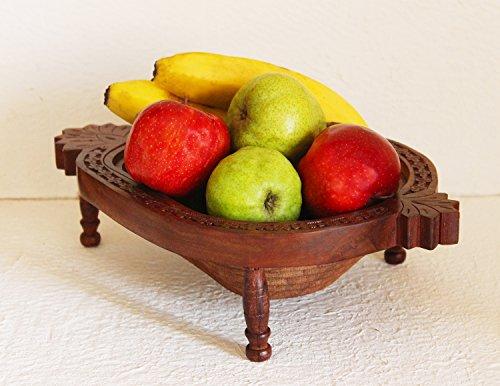 Navidad Regalos venta funcional de madera plegable cesta de frutas, verduras, pan, aperitivos, Picnic en forma de piña Log