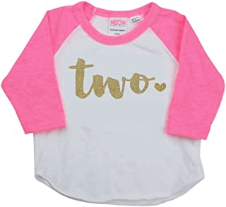 Girl Second Birthday Outfit Second Birthday Shirt Two Year Old Outfit