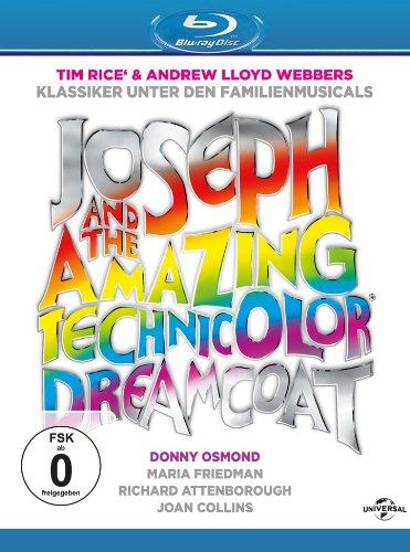 Joseph and the Amazing Technicolor Dreamcoat (1999) ( Great Performances: Joseph & the Amazing Technicolor Dream coat ) [ Blu-Ray, Reg.A/B/C Import - Germany ]
