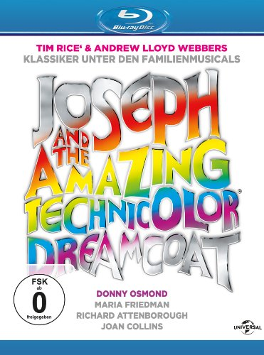 Joseph and the amazing technicolor dreamcoat [Blu-ray]
