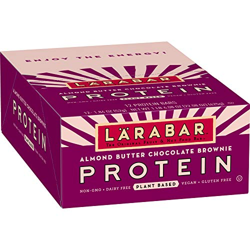 Larabar Protein Bar, Almond Butter Chocolate Brownie, 12 Count