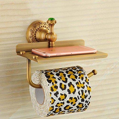 Cuivre Antique Serviette De Papier Toilette Porte-Papier