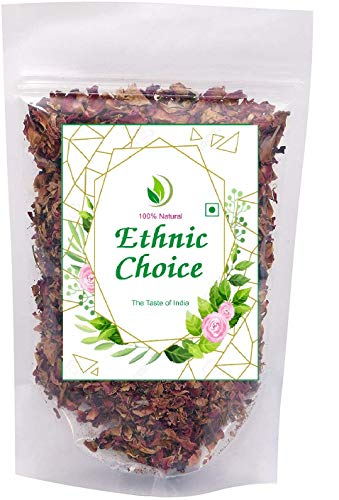 Ethnic Choice 100% Natural Dry Rose Petals, Rosa Gallica Gulab ki Patti, Pack of 50 g