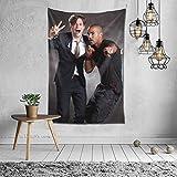 LOVEPICK6 Tapiz colorido para colgar en la pared, manta de arte para sala de estar, dormitorio, decoración del hogar (40 x 60 pulgadas)