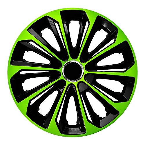 Centurion Radzierblende Extra Strong grün/schwarz 14 Zoll 4er Set