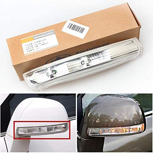 Clidrel Car Rear View Mirror Turn Signal Light Side Mirror LED Lamp for Chevrolet Captiva 2007-2011 2012 2013 2014 2015 2016 (Left and right)