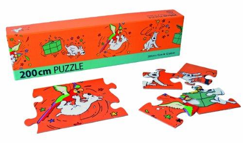 Moulinsart- Tintin Puzzle Friso Milú (81536)