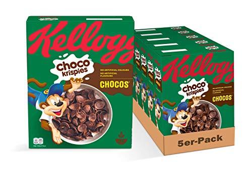 Kellogg's Choco Krispies Chocos Cerealien   5er Vorratspack   5 x 330g