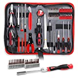 Hi-Spec 73 Piece Repair & Opening Tool Kit Set with Precision Screwdriver Bits for Electronics & Computers, Mobile Smart Phones, Laptops, Game Controllers & Gadgets. All in a Zipper Case