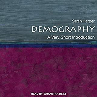 Demography audiobook cover art
