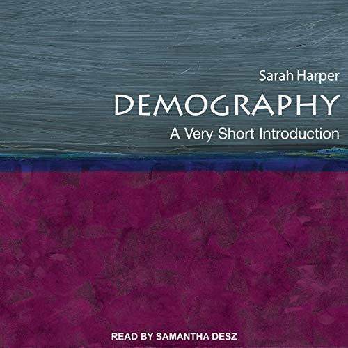 Demography audiobook cover art
