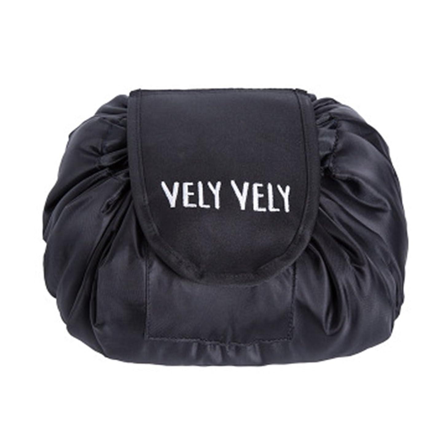 Littleliving 旅行メイクバッグ 旅行化粧バッグ メイク収納バッグ 化粧ポーチ 大容量 巾着 マジックふろしきポーチ