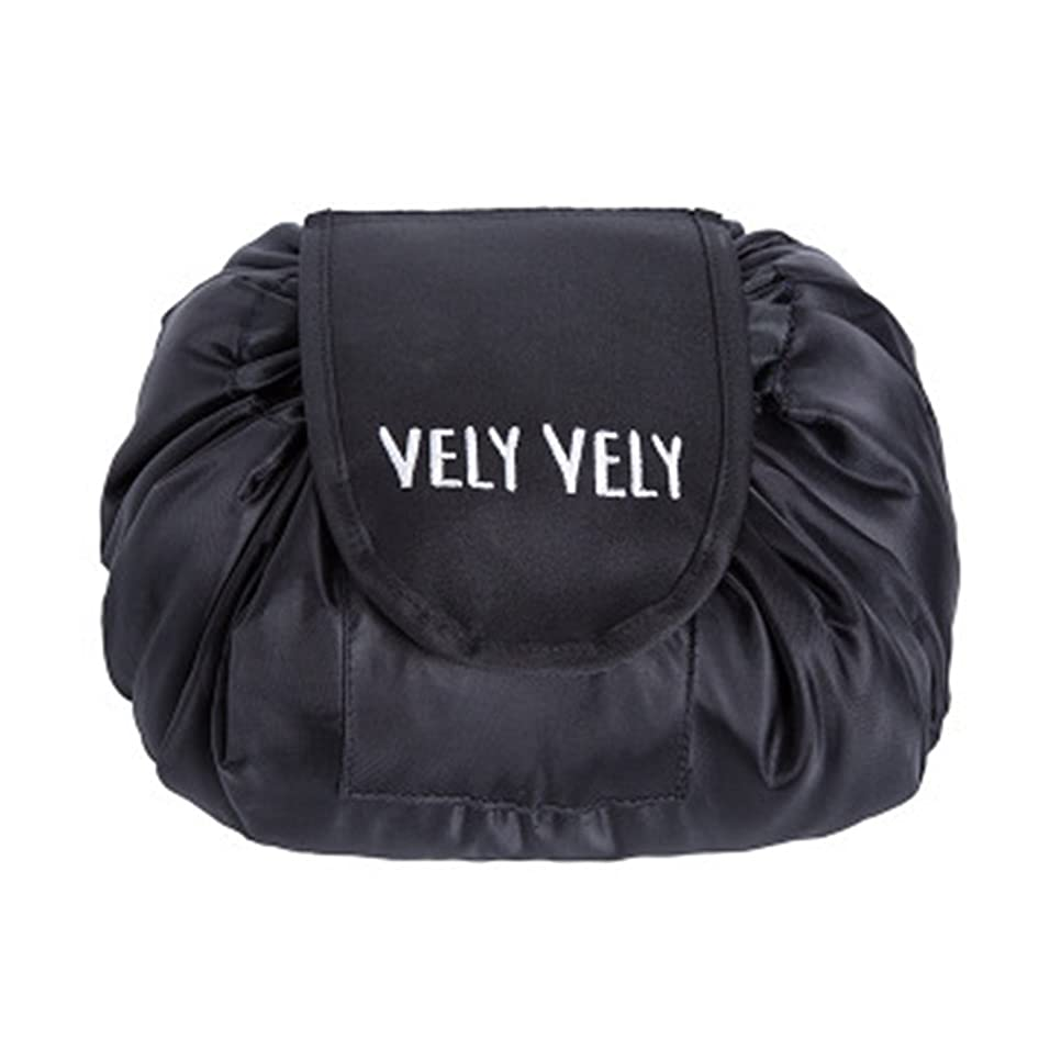 ずるい発音成功したLittleliving 旅行メイクバッグ 旅行化粧バッグ メイク収納バッグ 化粧ポーチ 大容量 巾着 マジックふろしきポーチ