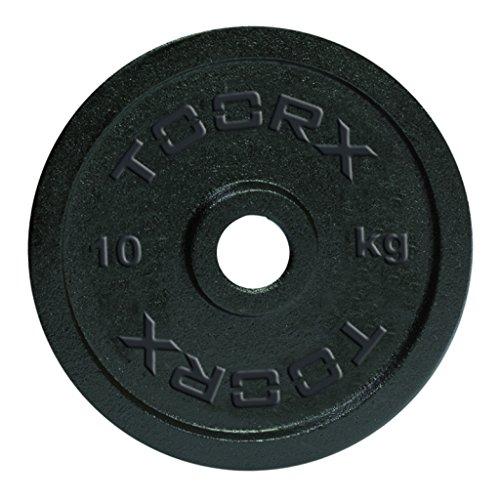 Toorx Disco Ghisa Nera Kg 0,5 - 25 mm