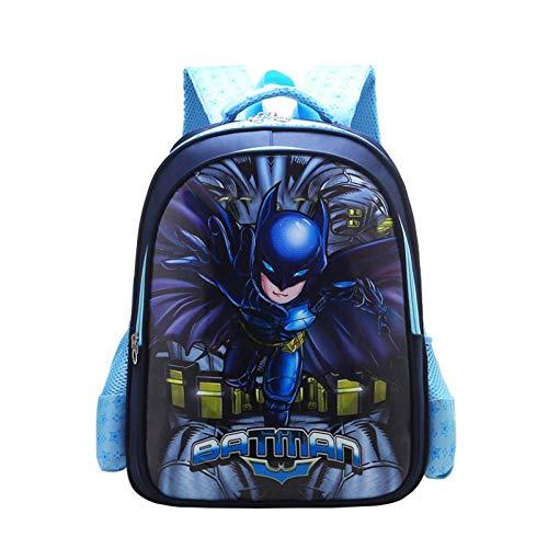 Bag Set Morral De Los Niños De La Caricatura De Mochila para Niños para Niños con La Temporada De Superhéroe Animado Escuela Regalo B-L