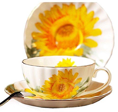 Porcelain Tea Cup with Saucer