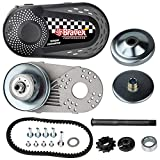 Complete Torque Converter Go Kart Clutch Kit Set 3/4inch 10T #40/41 and 12T #35 Chain Replacement for 218353A Manco Comet TAV2