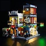 Nlne Kit De Iluminación Led para Lego Creator Tienda De Mascotas Y Cafetería,Compatible con Ladrillos De Construcción Lego Modelo 31097 (NO Incluido En El Modelo)