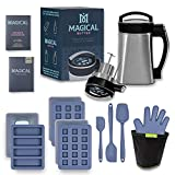 Magical Butter Machine MB2E Botanical Extractor Kitchen Bundle with Magical Butter official 7 page Cookbook and Accessories