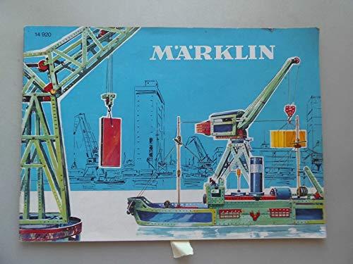 Märklin-Metallbaukasten Heft lehrreiche Konstruktionsspiel für die Heranwachsende Jugend