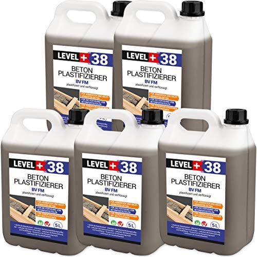 25 L Beton Plastifizierer Fließmittel Betonverflüssiger Zusatzmittel Estrich Zusatzmittel Betonfließmittel RM38