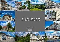 Bad Toelz Impressionen (Wandkalender 2022 DIN A2 quer): Wunderschoene Ansichten der Stadt Bad Toelz (Monatskalender, 14 Seiten )