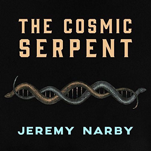 The Cosmic Serpent audiobook cover art