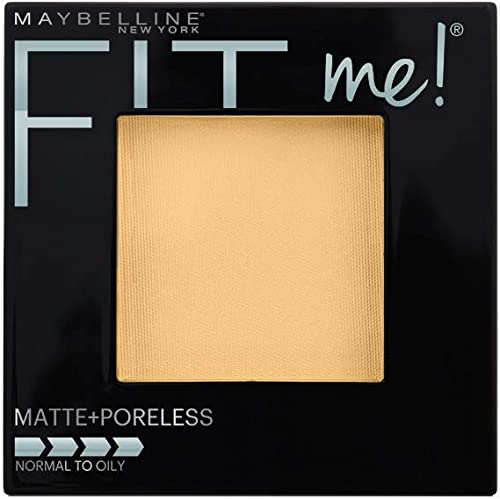 Maybelline Fit Me Matte & Poreless Pressed Powder - Classic Ivory 120,0.29 Ounce