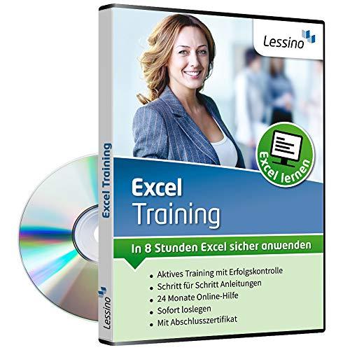 Excel Training - In 8 Stunden Excel sicher anwenden | Einsteiger lernen mit diesem Kurs Schritt für Schritt die Grundlagen von Excel 2010, 2013, 2016 und 2019[1 Nutzer-Lizenz]