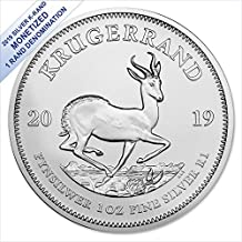 2019 Silver Krugerrand (1 oz) 1 Rand South African Mint Brilliant Uncirculated