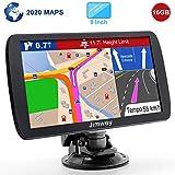 Jimwey GPS Navi Navigation für Auto LKW PKW 9 Zoll 16GB Lebenslang Kostenloses Kartenupdate...