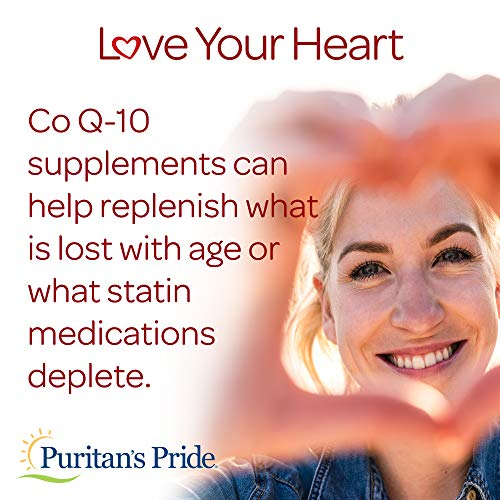 CoQ10 200mg, Supports Heart Health, 240 Rapid Release Softgels by Puritan's Pride