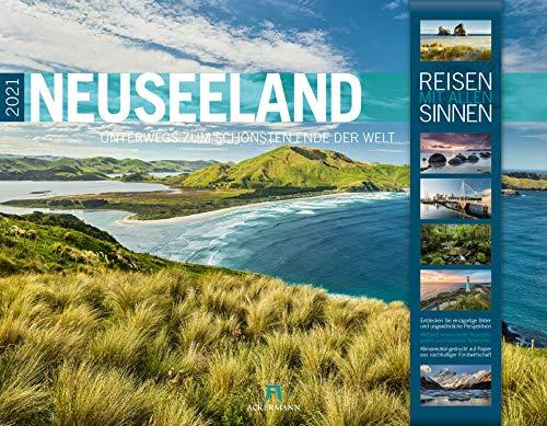 Neuseeland Kalender 2021, Wandkalender im Querformat (54x42 cm) - Natur - und Reisekalender