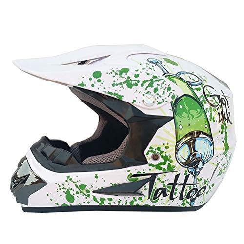 Adult Bike Bicycle Motocross Off Road Helmet Atv Dirt Bike Downhill MTB DH...