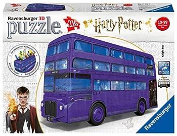 Ravensburger 11158 Harry Potter Knight Bus 216pc 3D Jigsaw Puzzle,