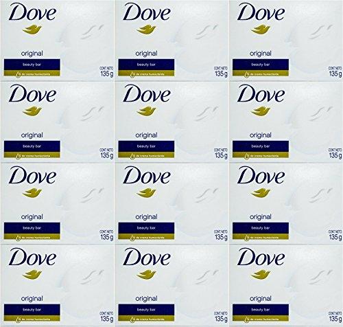 Dove White Cream Bar 4.75 Oz / 135 Gr (Pack of 12)