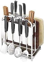 Home Living Museum / 304 Stainless Steel Knife Holder Knife Holder Kitchen Rack Kitchen Utensils Cutting Board Kitchen Kni...