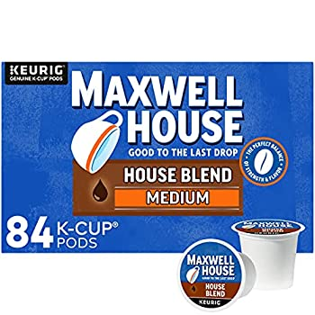Maxwell House House Blend Medium Roast K-Cup Coffee Pods  84 Pods