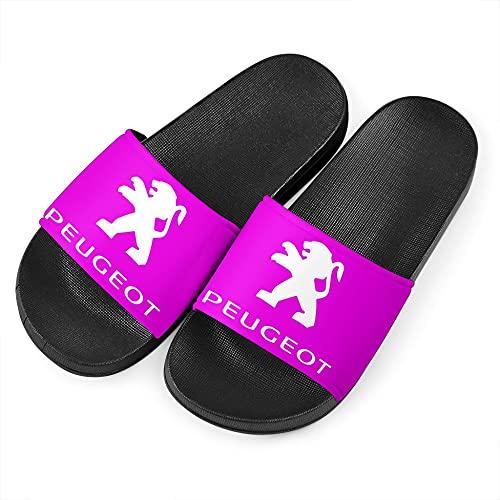 SPONYBORTY Zapatillas de hombre p.eu.ge-ot sandalias de playa de moda antideslizantes unisex chanclas de interior y exterior zapatos de natación Zapato/Púrpura / 45