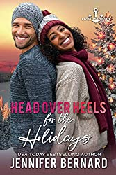 Head Over Heels for the Holidays by Jennifer Bernard book cover