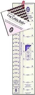 Michell Marketing Marti Michell Fav Ruler Log Cabin .625