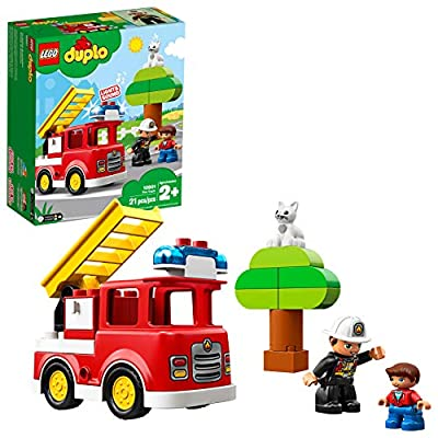 LEGO DUPLO Town Fire Truck 10901 Building Blocks (21 Pieces)