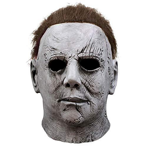 HOMELEX Halloween Michael Myers Maske Horror Cosplay Karneval Kostüm