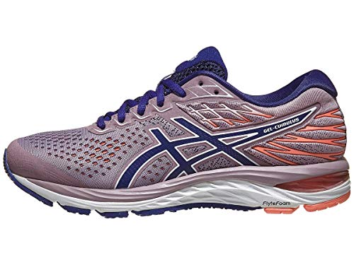 ASICS Women's Gel-Cumulus 21 Running Shoes, 7M, Violet Blush/Dive Blue